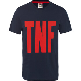 The North Face TNF S/S Tee Herr urban navy/fiery red